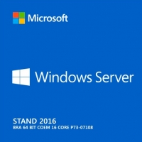 Windows Server Stand 2016 Bra 64 bit COEM 16 core P73-07108