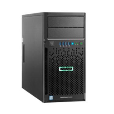 Servidor Proliant ML30 Gen9 S-Buy - Processador Quad-Core Intel Xeon E3-1220v6 (3.0 GHz, 8MB Cache), 8GB (1x8GB) de memória DDR4-2400 UDIMM, 1 x 1TB SATA (suporte até 4 discos LFF)